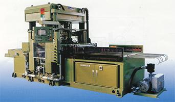 熱板圧空成形機の製品写真