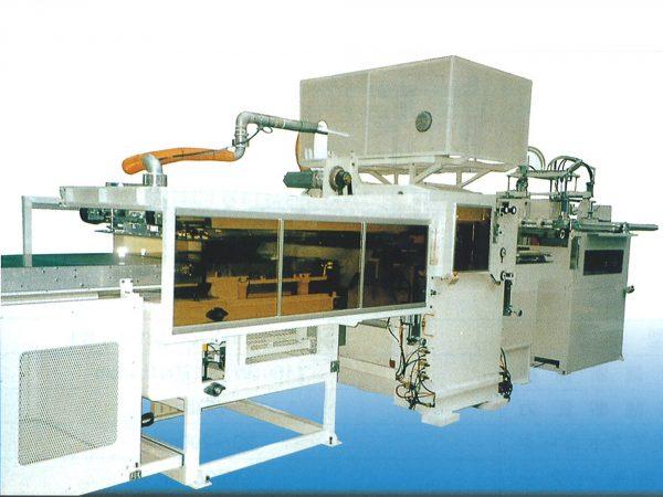TFP-T-1000シリーズ 連続圧空真空成形機(ドラゴン)