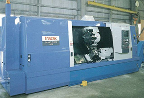 Picture of large-scale machining center