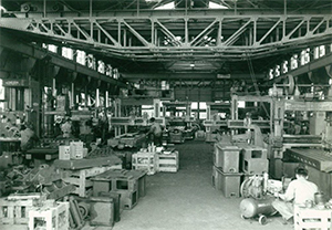 Main office factory expansion