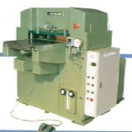 Photo of half-cut hydraulic cutting machine